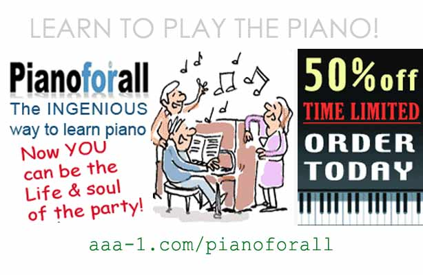 Learn piano quickly and easily with this ingenious method!